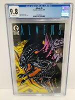 ALIENS #6 CGC 9.8 NM/MT WP Dark Horse 1989 Unblemished Case Only 28 CGC census!