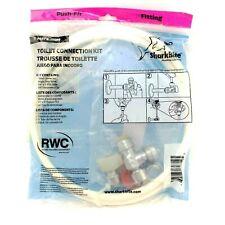 "Sharkbite Plumbing Solutions Toilet Connection Kit 1/2"" Push-Fit #25088"