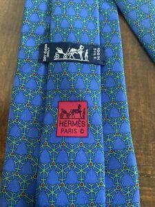 NEW Men's Hermès Tie (Blue)