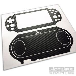 Playstation VITA 2000 Skin Kit (PS VITA Slim) - Carbon Fibre Protective Vinyl
