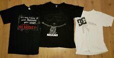 Lot 3 Boys Short Sleeve T Shirts Size Large NBA LeBron James DC Gildan