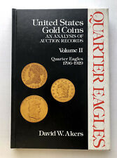 1975 United States Gold Coins Volume Two, Quarter Eagles by Akers