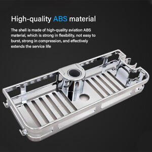 New Stainless Steel Shower Shelf Kitchen Bathroom Storage Basket Caddy RacYF