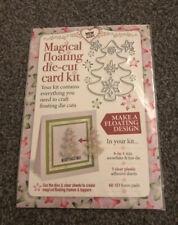 MAGICAL FLOATING CHRISTMAS DIE CUT CARD KIT
