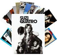 Postcards Pack [24 cards] Suzi Quattro Rock Music Posters Vintage CC1224