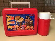 VINTAGE 1987 ALF THERMOS LUNCH BOX, VERY GOOD CONDITION W Original Thermos