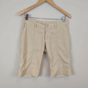 Patagonia Womens Inter Continental Bermuda Shorts Size 2 Tan