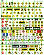 9001 DAVE'S DECALS ROAD NO PASSING SPEED LIMIT WRONG WAY, SIGNS ADVERTISING MORE