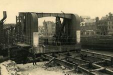 France Dieppe Colbert Bridge Rehabilitation Work Old Photo 1947