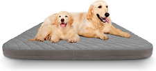 Large Dog Bed Orthopedic Foam Dog Beds Mattress 47 inch Jumbo Joint Relief Pet