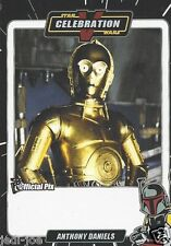 Anthony Daniels Official Pix Star Wars Autograph Trading Card Celebration 5 Exc