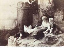 Victorian CDV Carte De Visite Photo: Artwork #146: Meyerheim, Little Doves