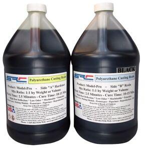 Model-Pro Black Urethane Casting Resin Liquid Plastic for Models 1 Gallon Kit