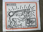 KEITH HARING - Against All Odds - Orig. Litho Authenticated Rare - 500 Mint