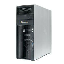 HP Z620 Workstation PC 2x Xeon E5-2643 CPU 64GB Ram 480GB SSD Quadro K2000 Win10