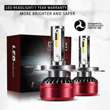 TURBOSII DOT H4 9003 LED Headlight Bulb Conversion Kit Hi/Low Beam 6000K HID DTB