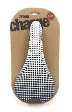 Charge Bikes Spoon Bicycle Saddle DOT FADE White/Black
