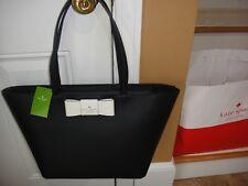 New Kate Spade Robinson street Ellis Black/Cement Tote Bag $328.00 100%Authentic