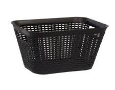 Black Plastic wicker Basket