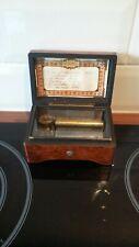 More details for vintage cylinder music box