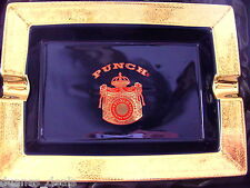 PUNCH>>> logo ASHTRAY Great Gift for DAD >< PUNCH ASHTRAY.................PUNCH