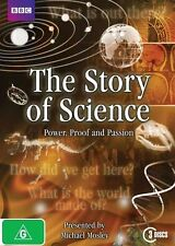 The Story of Science DVD NEW Region 4 Cell