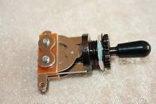Gibson Style Toggle switch schwarz und schwarzem Knopf