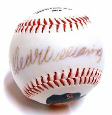 Ted Williams 133/1000 Autograph Signed Red Sox Logo Stat HOF Baseball Foto Ball