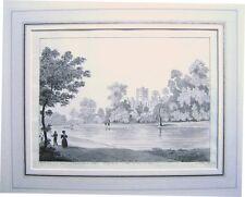 BRITISH ST.ALBANS HOLYWELL INK/WASH  JAMES WILCOX 1837