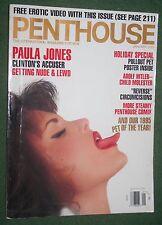 Penthouse Jan 1995 POM Christina Hoff POY Gina LaMarca Paula Jones Tony Bennett