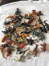 vintage hong kong 1970s animal plastic figures playsets Noah's Ark more
