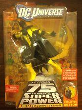 "DC Universe Sinestro Corps Batman 6"" figure DCU BAF Validus"