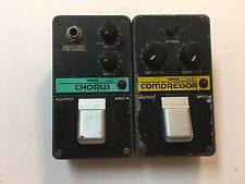 Yamaha CH-01 Chorus CO-01 Compressor Rare Vintage Guitar Effect Pedal Lot