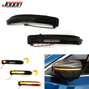 For Nissan X-trail Rogue Qashqai Rearview Mirror Dynamic Turn Sequential Light
