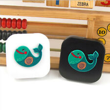 Travel Contact Lens Case Pocket Storage Holder Soaking Container Box MA