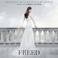 FIFTY SHADES FREED-SCORE - OST/ FIFTY SHADES OF GREY 3  CD NEUF ELFMAN,DANNY