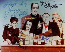MUNSTERS CAST 8X10 AUTHENTIC IN PERSON SIGNED AUTOGRAPH REPRINT PHOTO RP