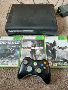Boxed Xbox 360 Elite Console Bundle 120GB With 3 Games Controller & Headset box