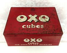 More details for vintage oxo cubes tin c.1950s