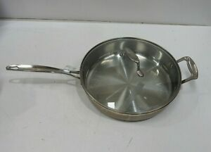 Scanpan Impact Stainless Steel Pan with Lid