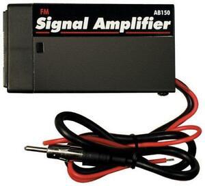 American International AB150 FM Antenna Signal Booster OPEN BOX