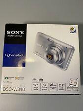 Open Box - Sony Cyber-Shot DSC-W310 12.1 MP Camera - SILVER 027242776777