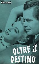 BROCHURE,1955,OLTRE IL DESTINO,Interrupted Melody GLEN FORD,Eleanor Parker Moore