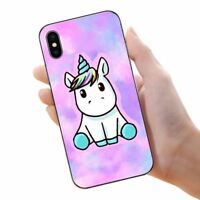 Cute Pink Unicorn Phone Case Soft Silicone Cover For iPhone 7 8 Plus X 5 6 Plus