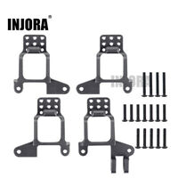 4PCS Aluminum Front & Rear Shock Towers Mount for 1/10 RC Car Traxxas TRX4 8216