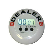 TOURNAMENT TIMER DEALER - POKER -  TEXAS HOLD'EM, TONDO