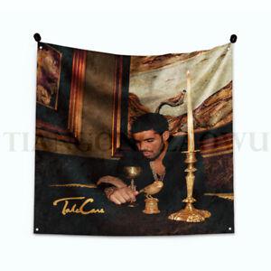 """Drake """"Take Care"""" Art Music Album Tapestry Flag 3Ft/ 4Ft"""