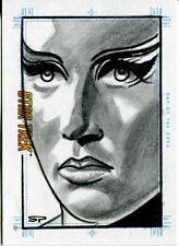 Star Trek Portfolio Prints Sketch Card Day of the Dove by Sean Pence