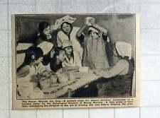 1921 Pottery Class In London Cellar Kensington Council Social Services