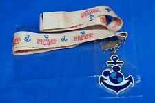 DVC Disney Vacation Club Member Cruise 2014 Lanyard Anchor NIP